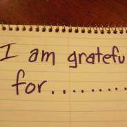 My Gratitude List
